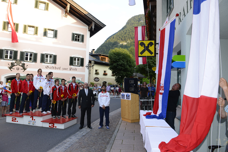 Médailles françaises aux championnats du monde à Lofer