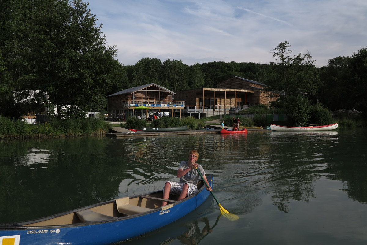 base de loisirs torcy kayak