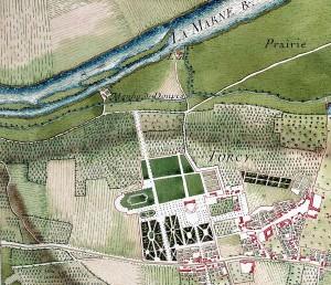 Atlas des routes royalesLe moulin de Douvres est un des plus anciens vestiges de Torcy avec l'ancien château que l'on peut découvrir sur l'Atlas des routes royales qui date du XVIIéme siècle.