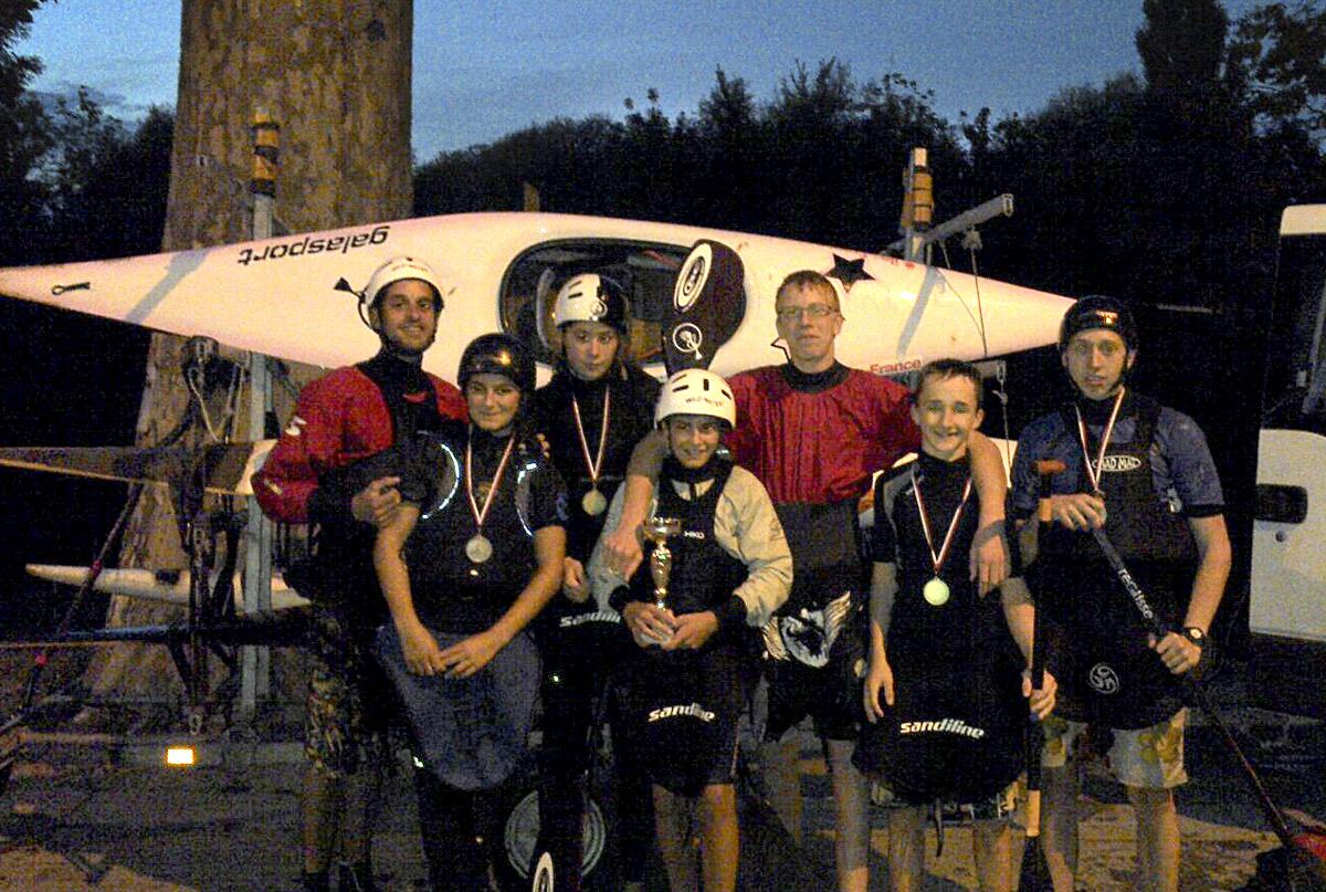 Championnat régional de slalom / Chelles 28-29/09/2013