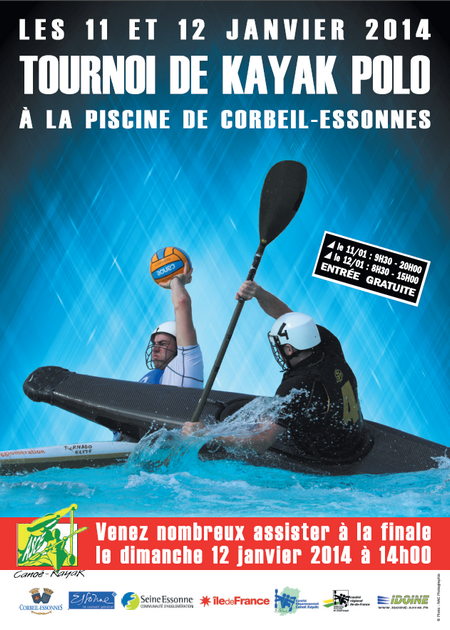 Tournoi National de kayak polo