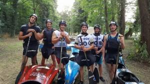 Equipage descente C2 Metz 2017