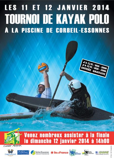 Tournoi National de kayak polo